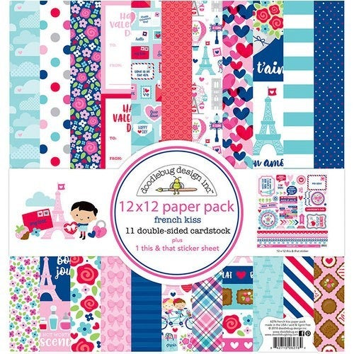 French Kiss Paper Pack