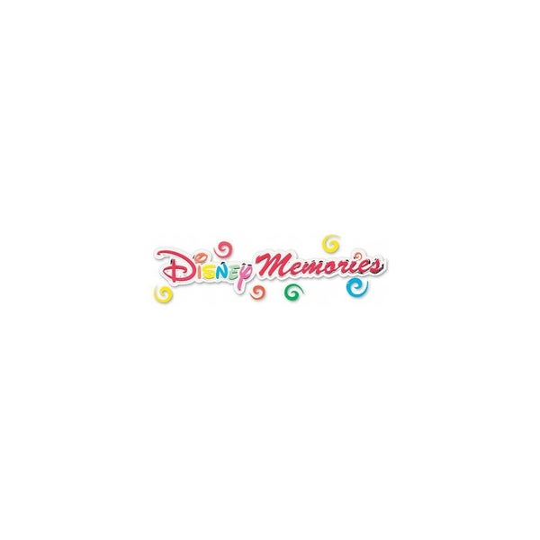 Disney Memories Title Sticker