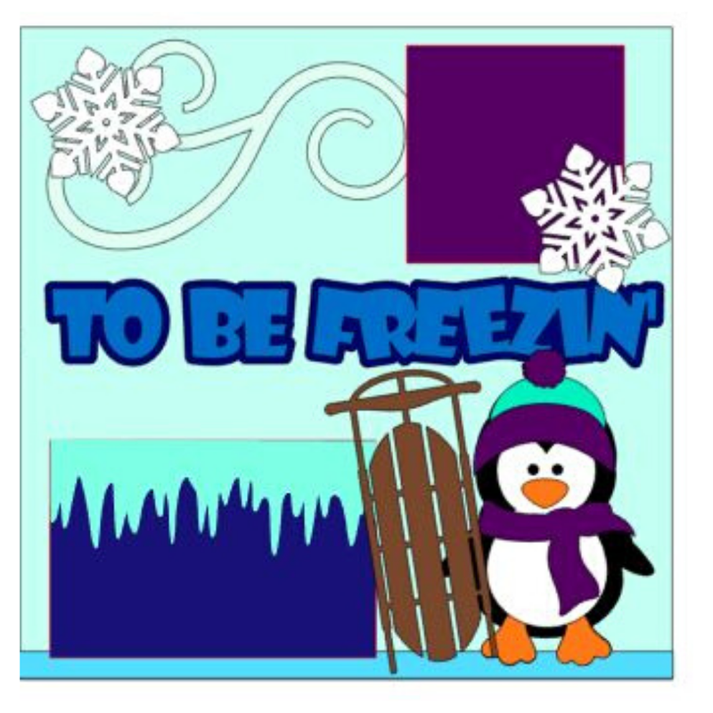 Tis The Season to Be Freezin Kit