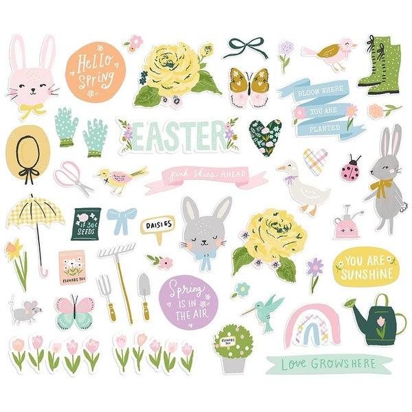 Bunnies & Blooms Bits & Pieces