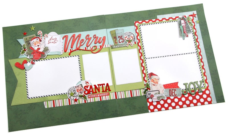 Simple Stories (2) 2 page layout  North Pole Class