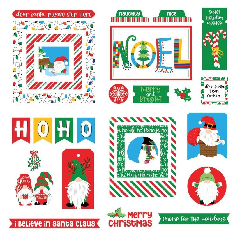 Gnome Christmas Die Cuts
