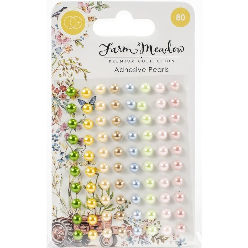 Farm Meadow Adhesive Dots