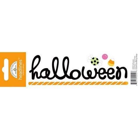 Halloween Title Sticker