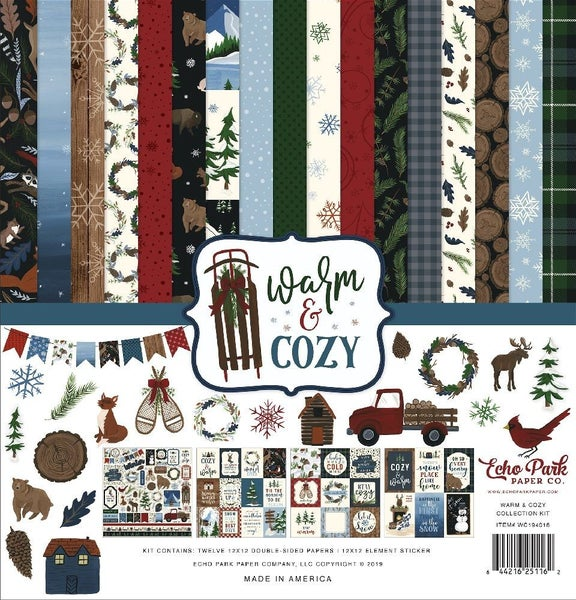 Warm & Cozy Paper Pack