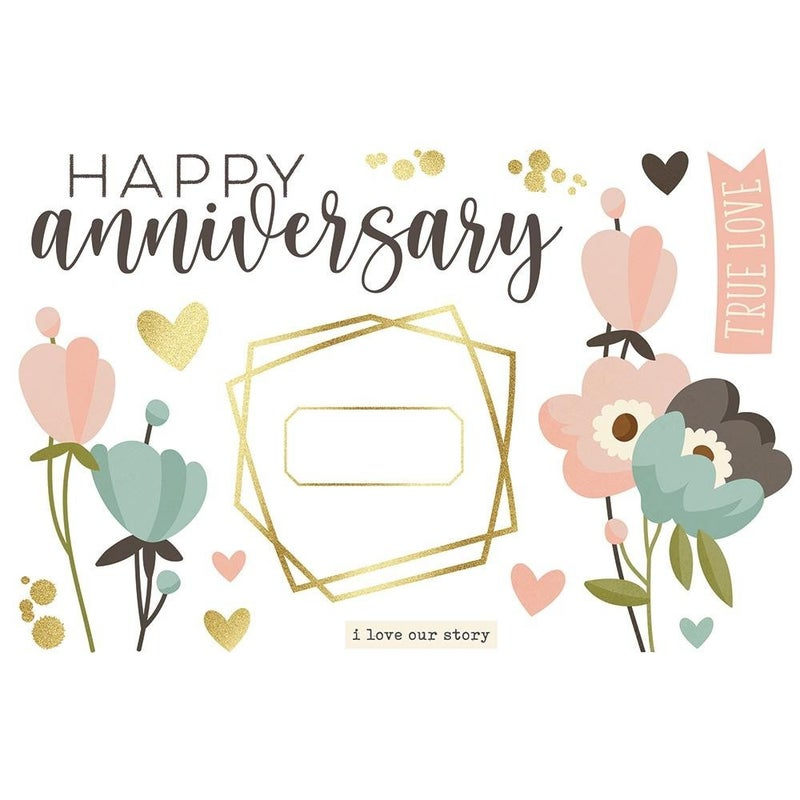 Anniversary Page Pieces