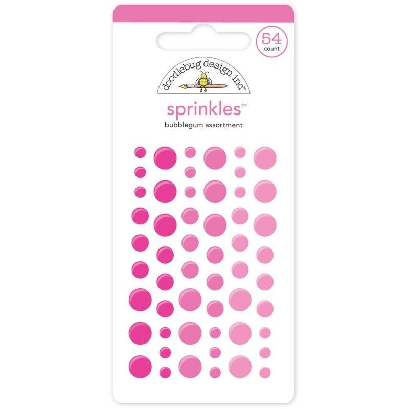 Doodlebug Sprinkles - Bubblegum Pink