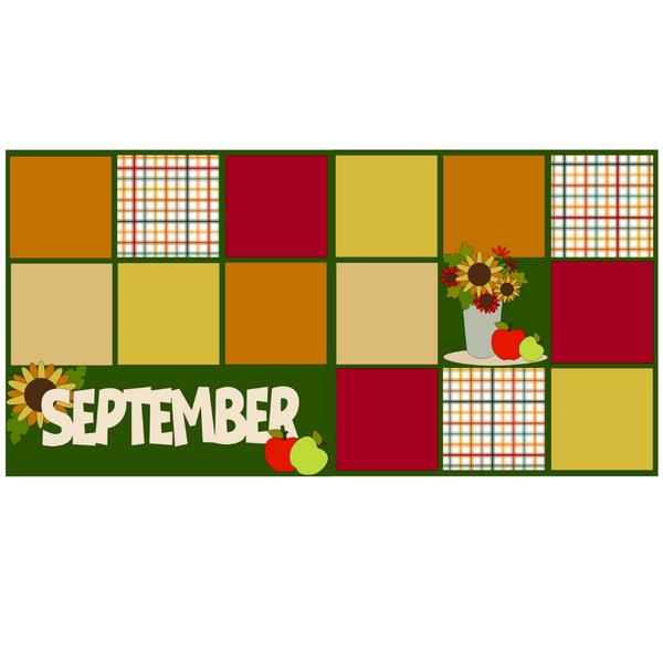 September Month  Kit