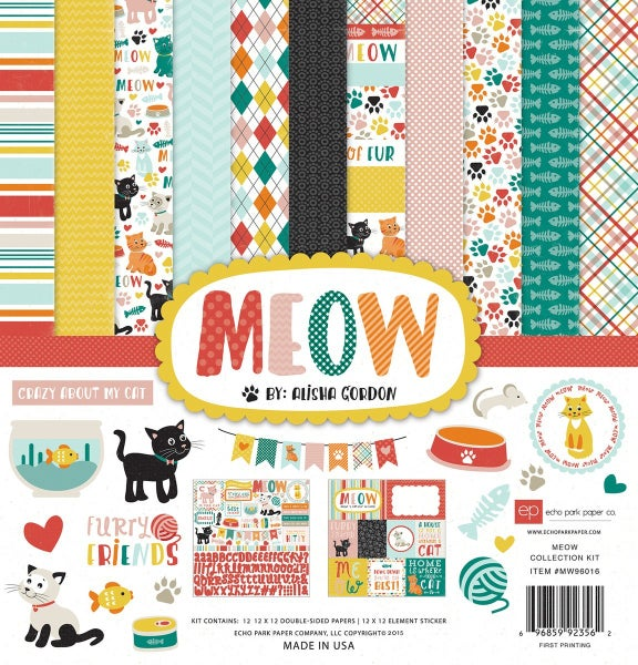 Meow Paper Pack