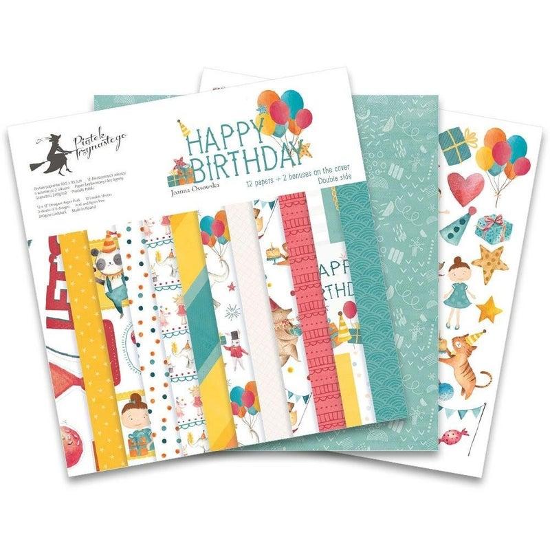 Happy Birthday Paper Pad