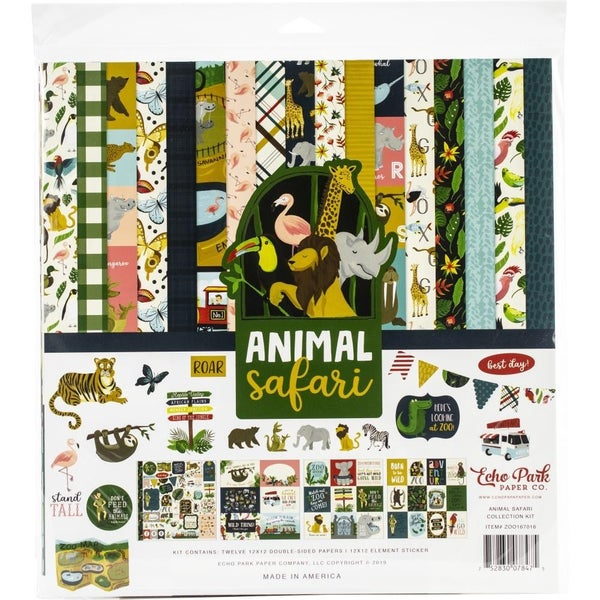 Animal Safari Paper Pack