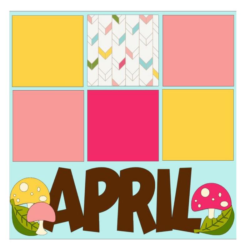 April Month Kit