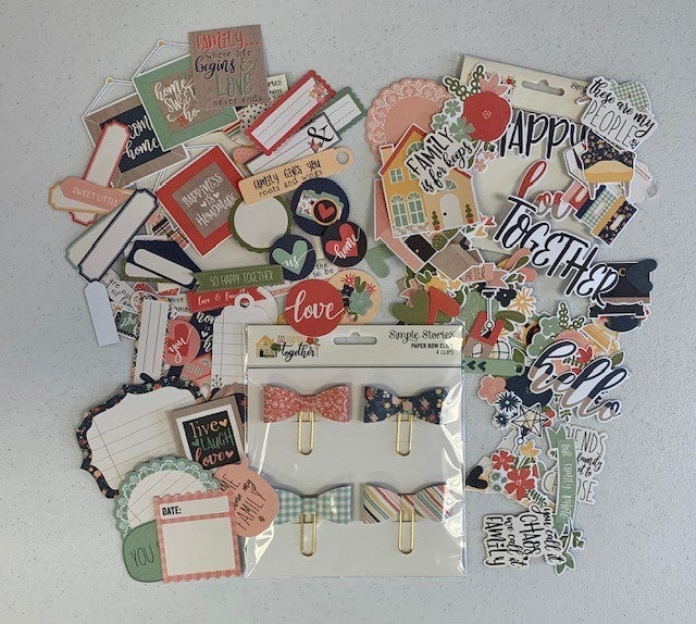 Simple Stories So Happy Together Embellishment Bundle