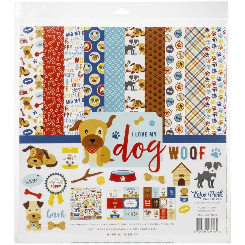 I Love My Dog Paper Pack