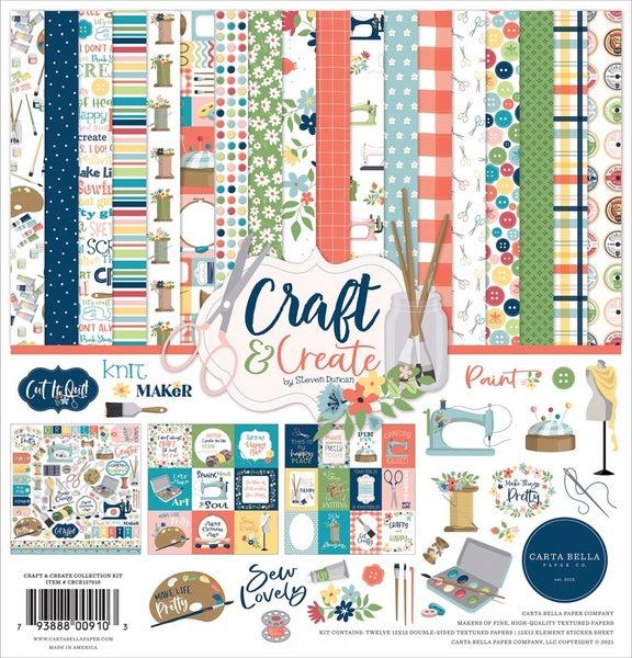 Craft & Create Paper Pack