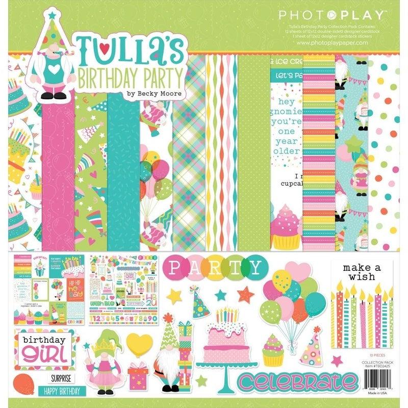 Tulla's Birthday Gnome Paper Pack