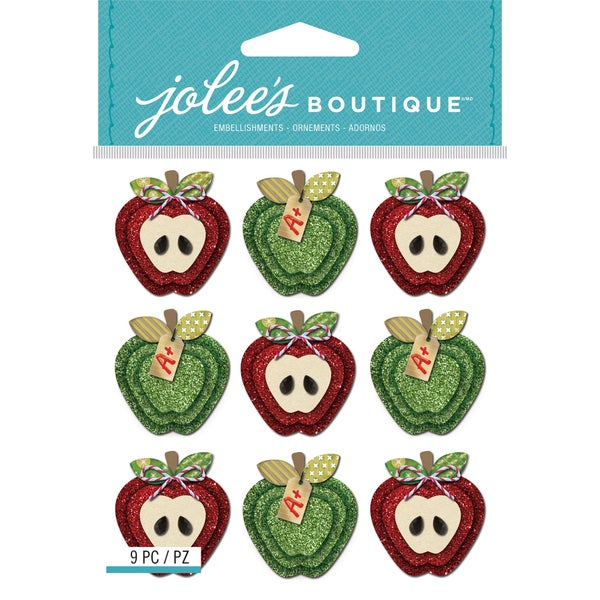 Jolee's Boutique Apple Stickers