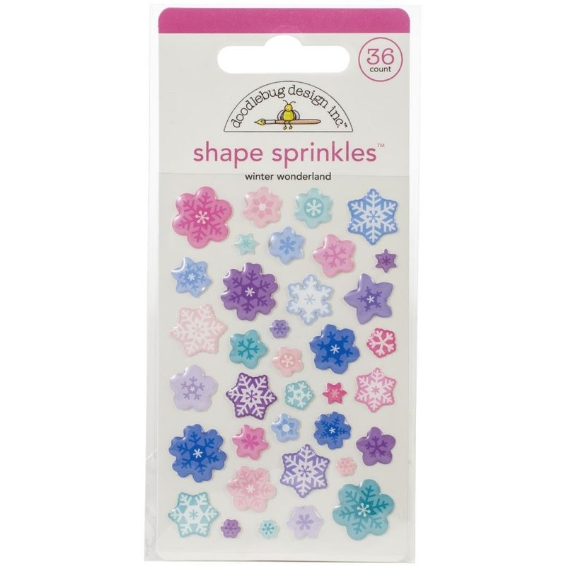Doodlebug Sprinkels - Winter Wonderland