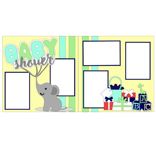 Baby Shower Elephant Kit