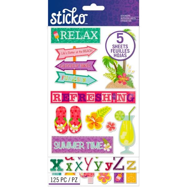 Summer Relax Sticker Pack