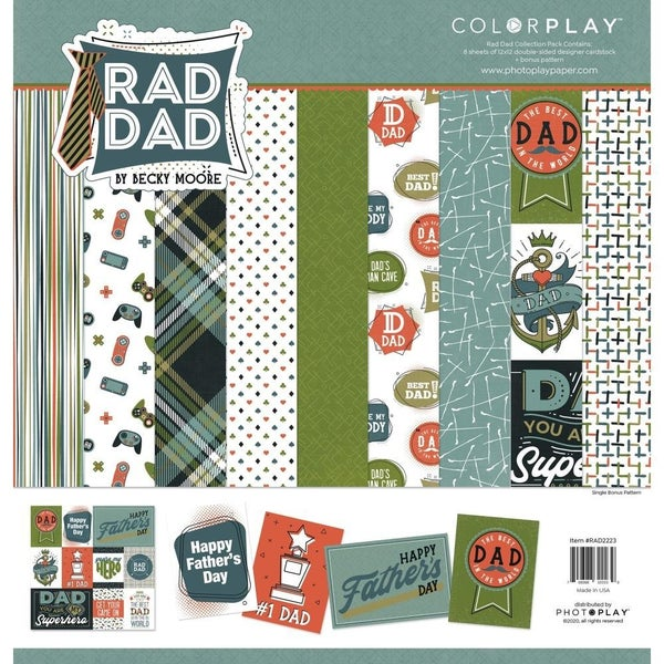 Rad Dad Paper Pack
