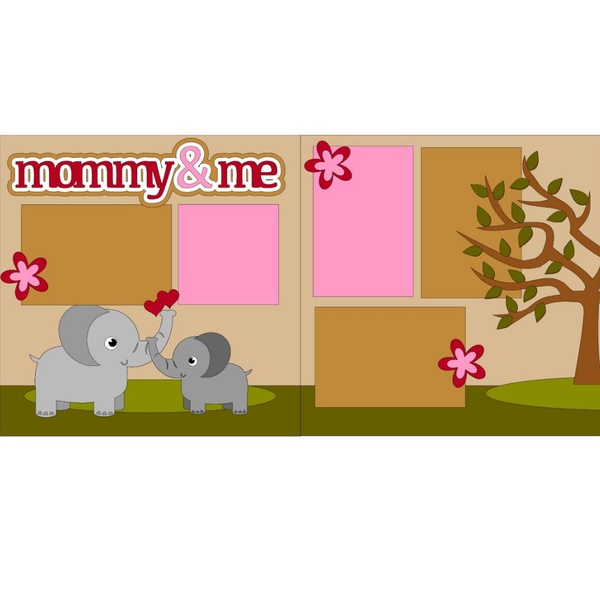 Mommy & Me Elephants kit