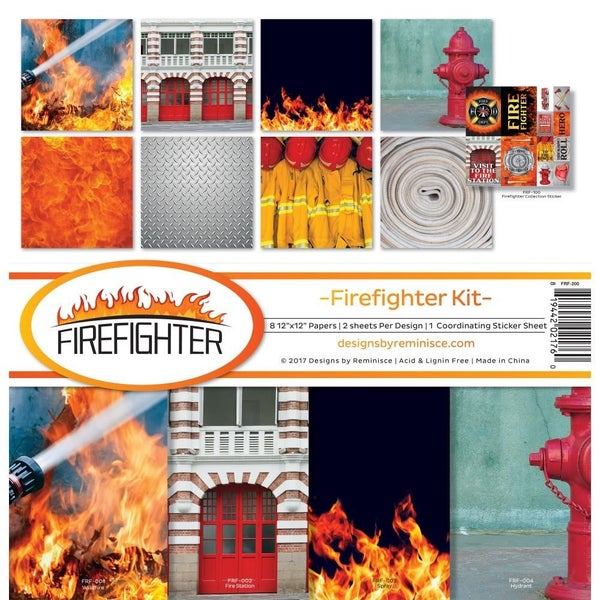 Firefighter Paper Pack