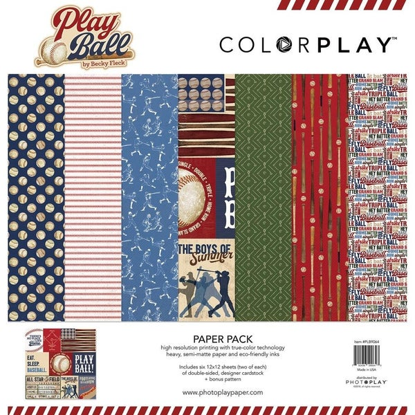 Play Ball Paper Pack
