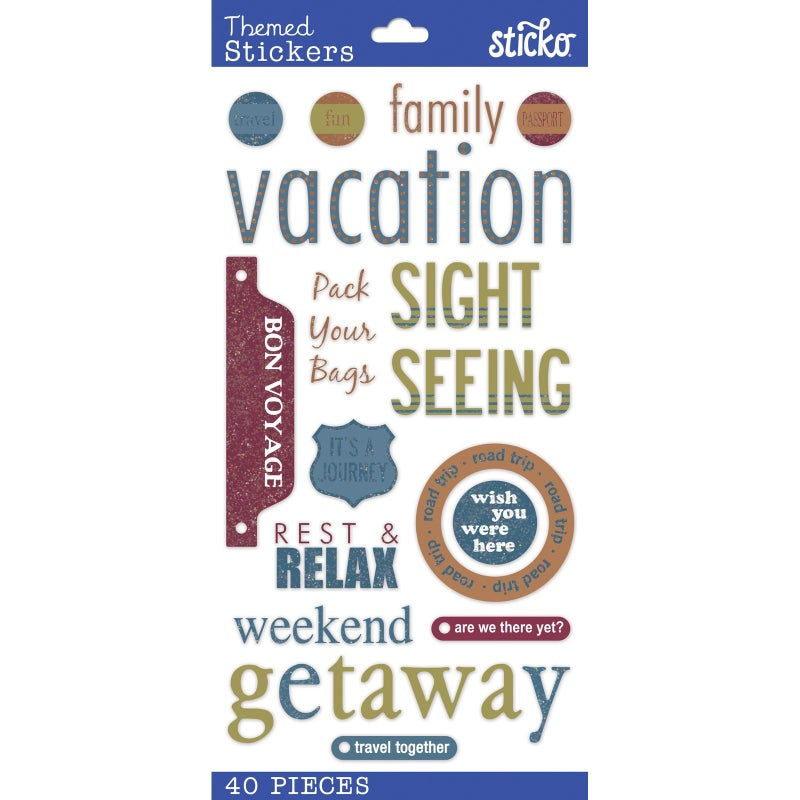 Vacation Stickers