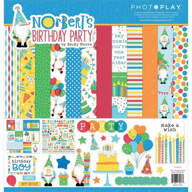 Nortbert's Birthday Gnome Paper Pack