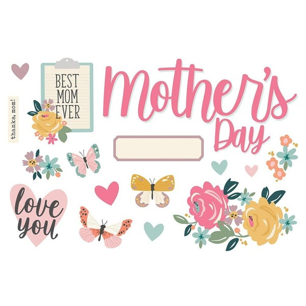 Mother's Day Page Pieces