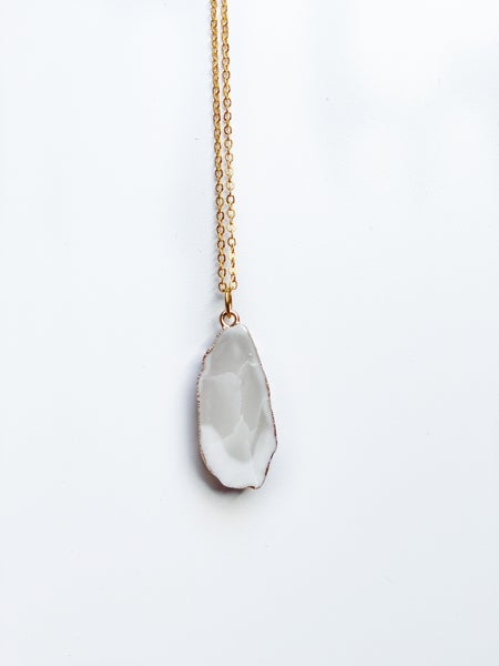 White Quartz Necklace
