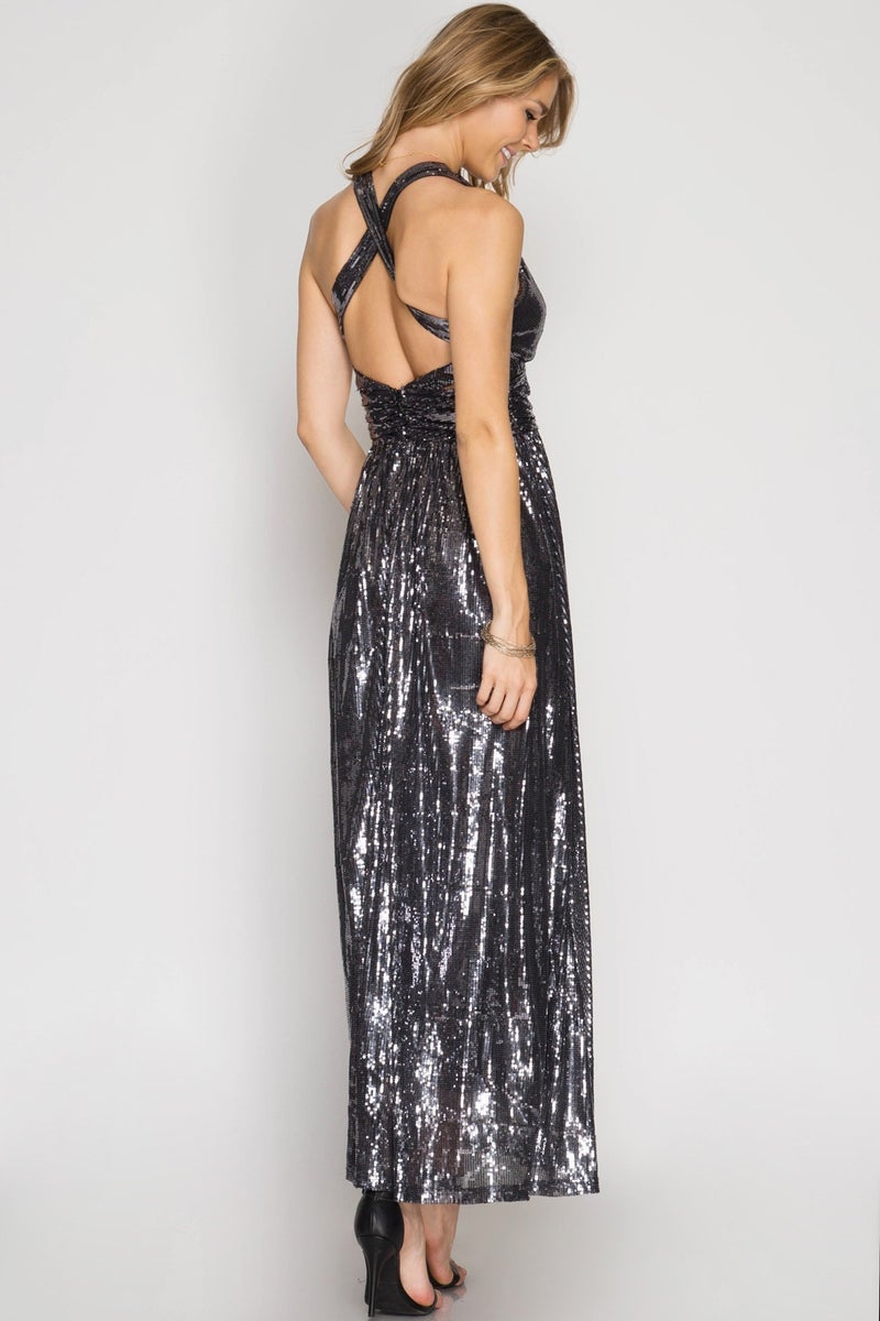 Showstopper Sequin Maxi