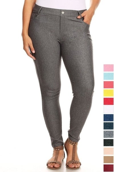 Classic Jeggings Grey