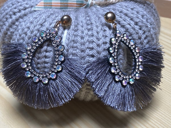Sparkle Fringe Earrings