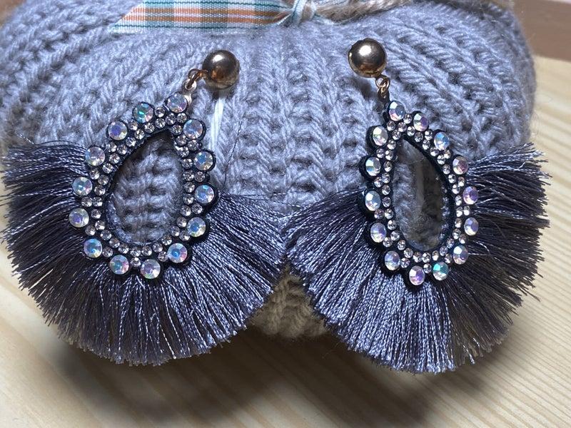 Sparkle Fringe Earrings