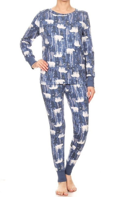 Polar Bear Pajama Set *Final Sale*
