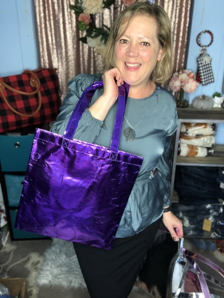 Metallic Reusable  Bag