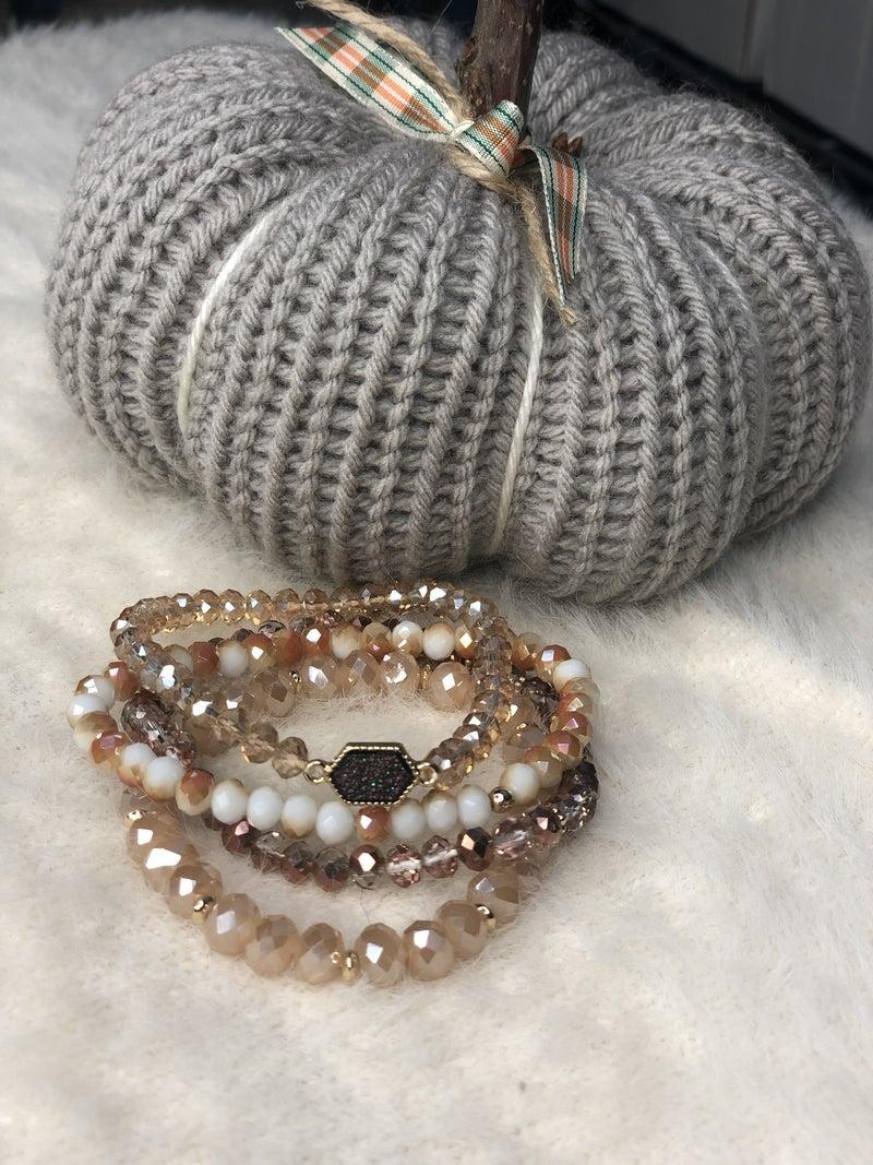 Druzy Stretch Bracelet