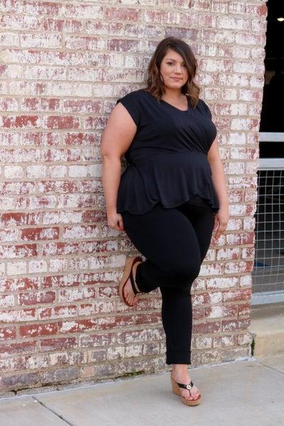 Sweet Caroline Tank Black