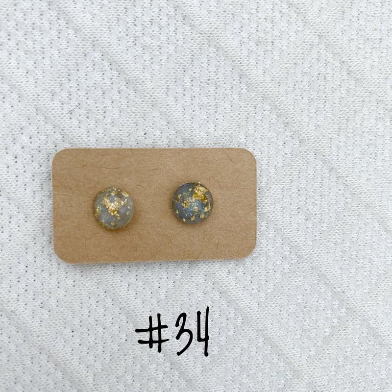 Post Earrings - Variety of Colors