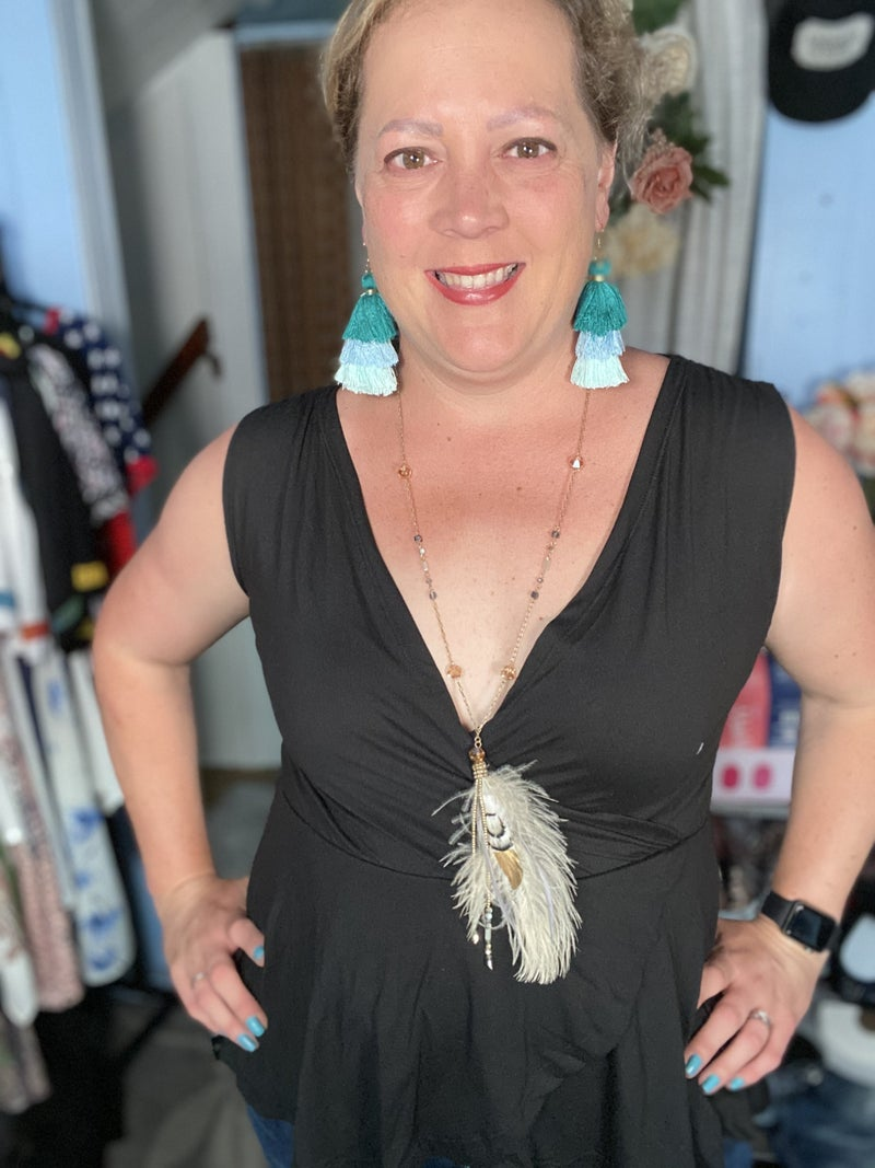 Feathers of an Angel Necklace