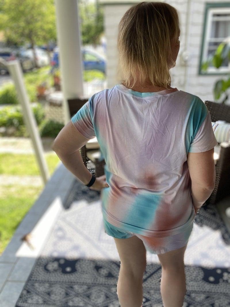 Tie Dye Pajama Set