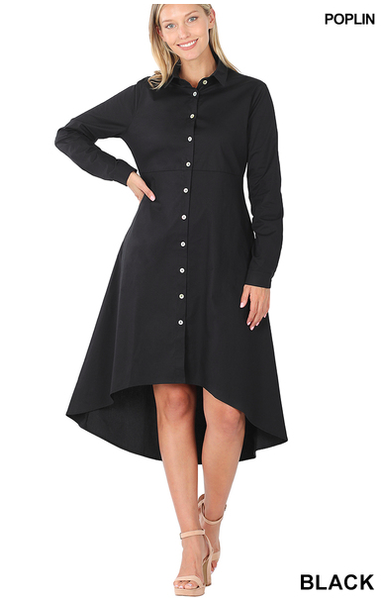 Back to Work Shirt Dress