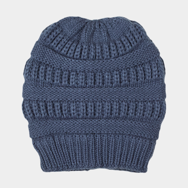 Plush Lined Winter Hat