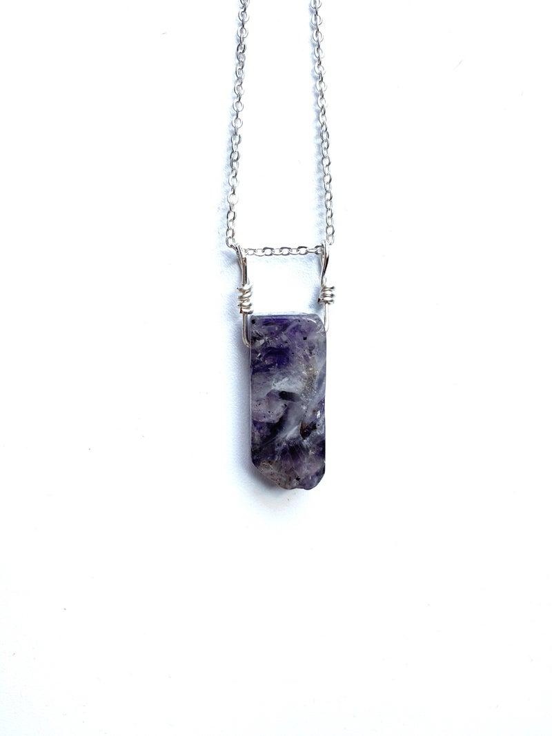 Purple Quartz Necklace