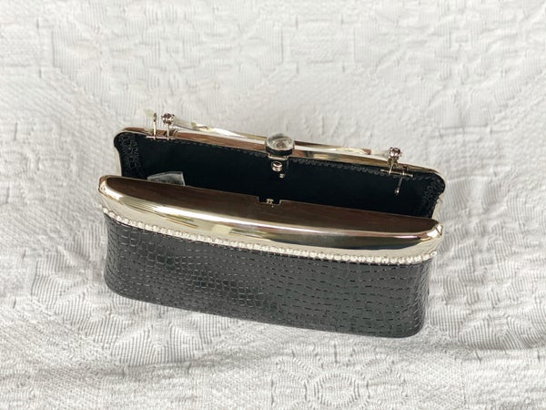 Evening Bags Black and Silver