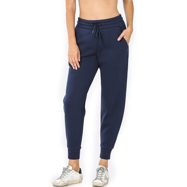 The Coziest Joggers - Navy