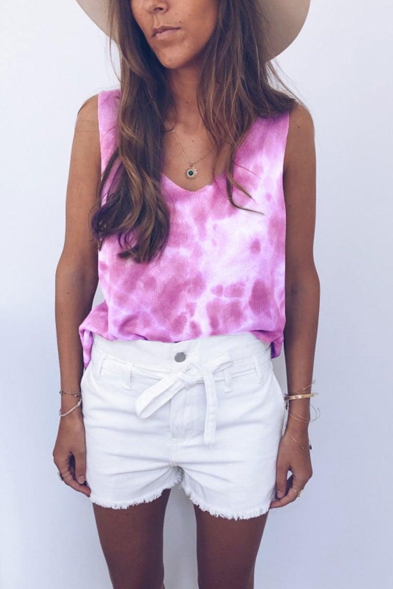 Pink Dreams Tie Dye Tank *Final Sale*