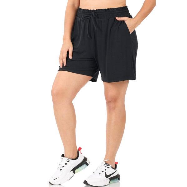 Paper Bag Drawstring shorts